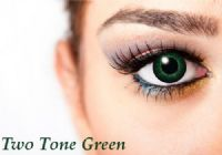 Two Tone Green Contacts - 90 Day